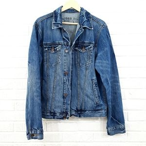 Fall 2010 Men's GAP 1969 Distressed Jean Jacket